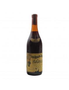 BAROLO BAD LABEL 1978 RINALDI FRANCESCO Grandi Bottiglie