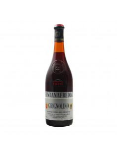GRIGNOLINO 1976 FONTANAFREDDA Grandi Bottiglie