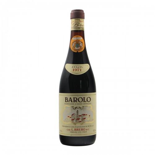 Barolo 1971 BRERO GRANDI BOTTIGLIE