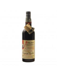 SALICE SALENTINO RISERVA 1981 LEONE DE CASTRIS Grandi Bottiglie