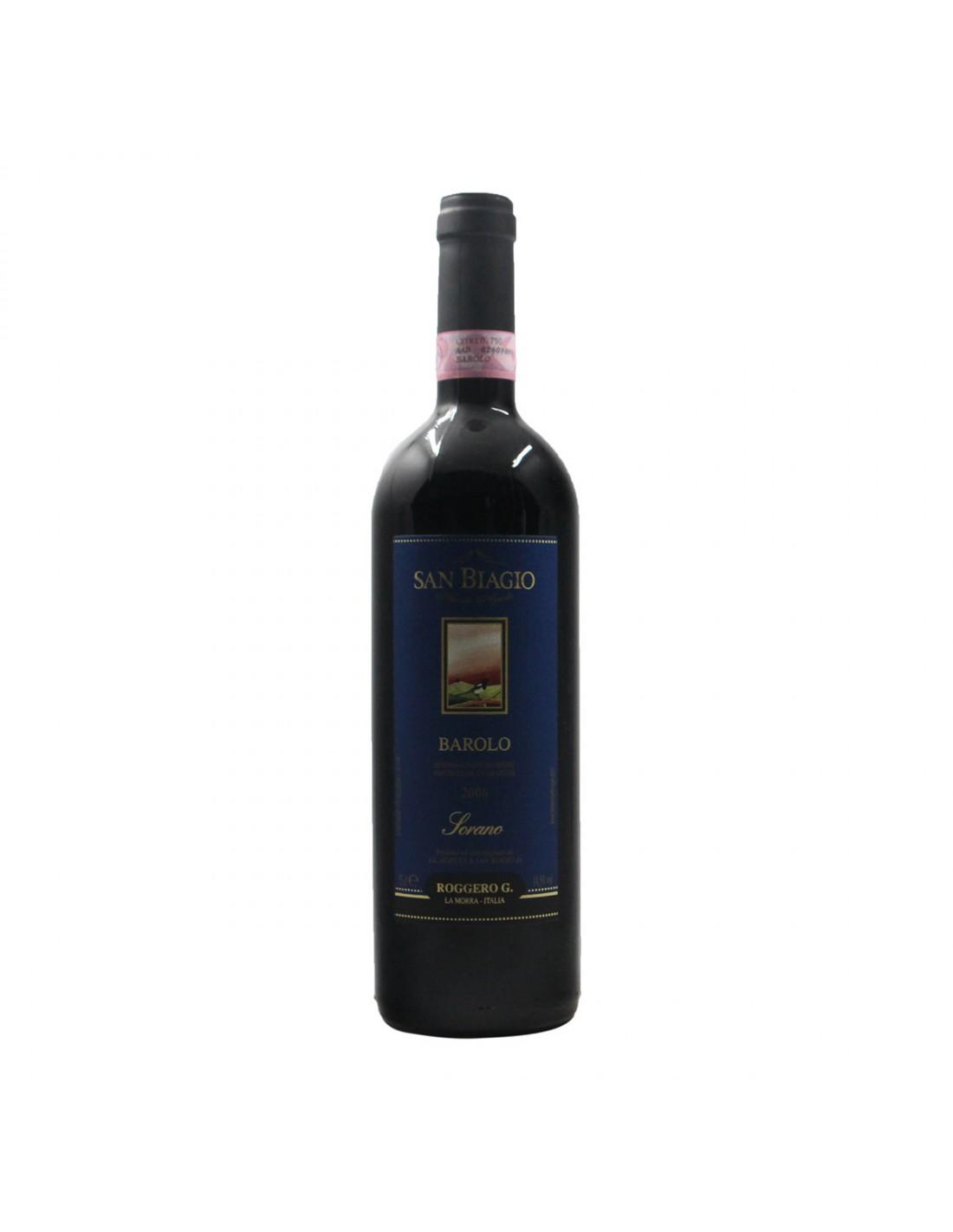 BAROLO SORANO 2006 S.BIAGIO DI ROGGERO Grandi Bottiglie
