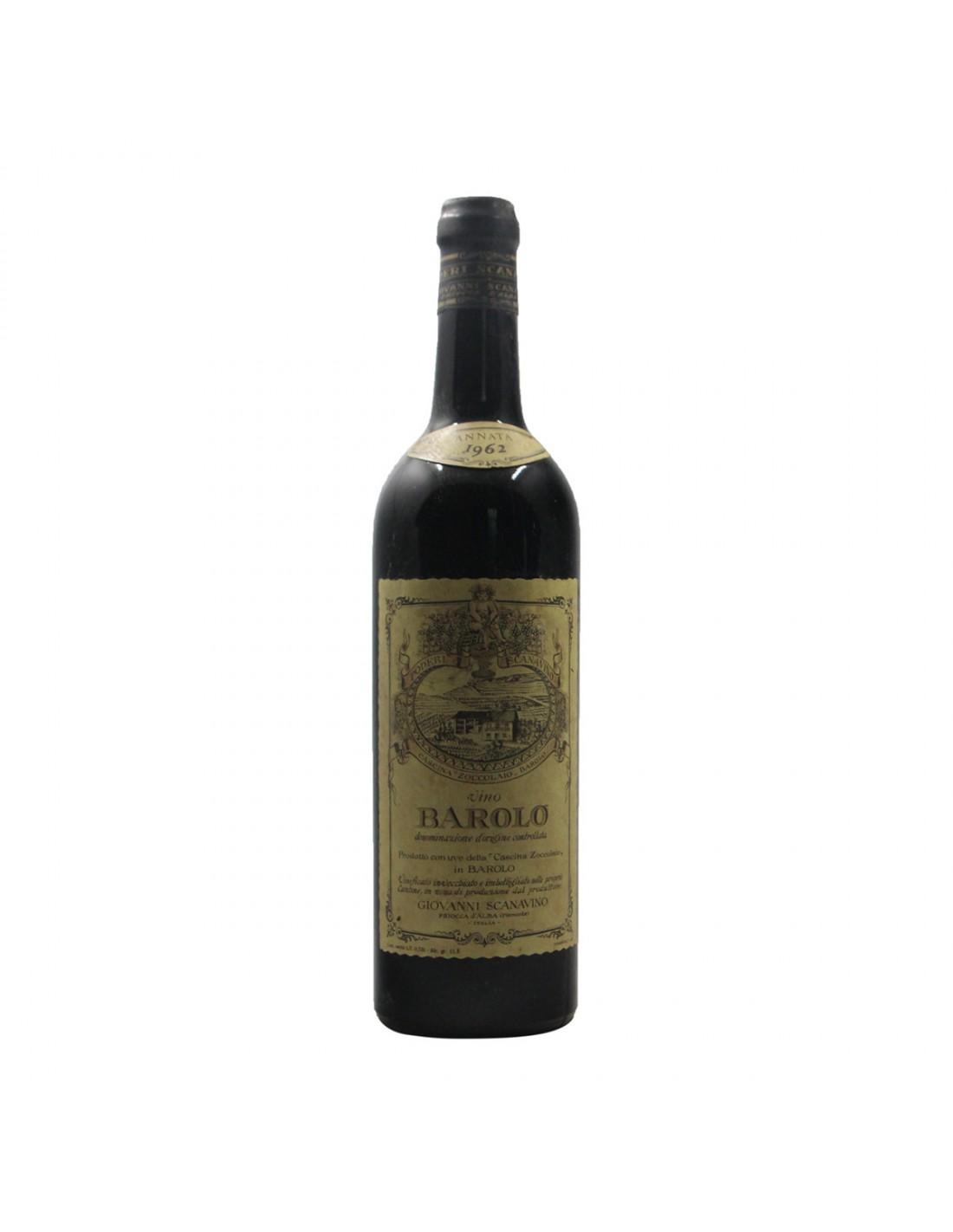 BAROLO 1962 SCANAVINO Grandi Bottiglie