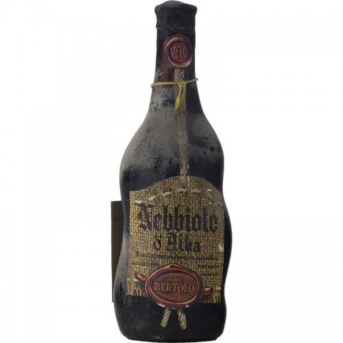 NEBBIOLO 1974 BERTOLO Grandi Bottiglie
