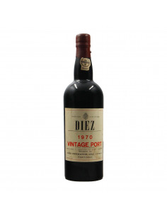 VINTAGE PORT CLEAR COLOUR 1970 DIEZ HERMANOS GRANDI BOTTIGLIE