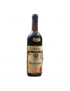 BARBARESCO RISERVA SPECIALE 1967 RIVETTO ERCOLE Grandi Bottiglie