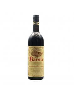 BAROLO 1967 PIRA SECONDO Grandi Bottiglie