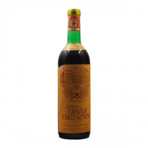 CHIANTI DEI COLLI SENESI 1970 CANTINE BAIOCCHI Grandi Bottiglie