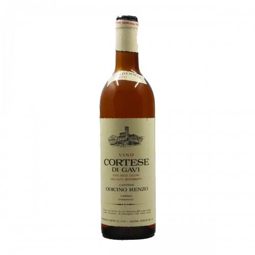 CORTESE DI GAVI 1970 RENZO ODICINO Grandi Bottiglie
