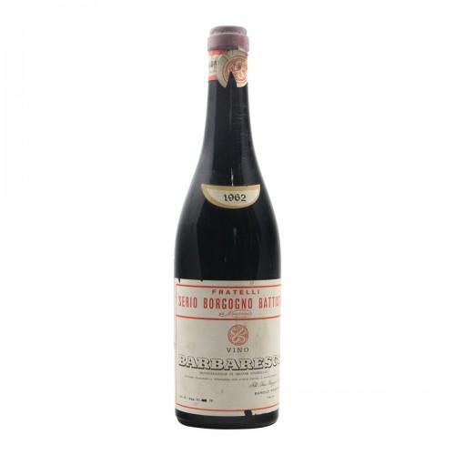 BARBARESCO 1962 BATTISTA BORGOGNO Grandi Bottiglie