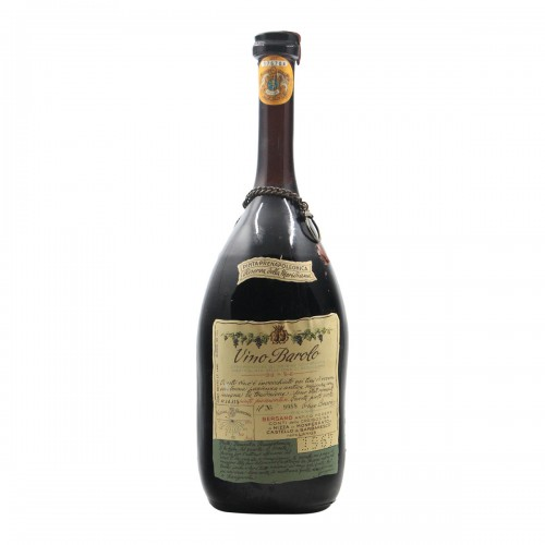 BAROLO RISERVA DELLA MERIDIANA 1.5 L 1967 BERSANO Grandi Bottiglie