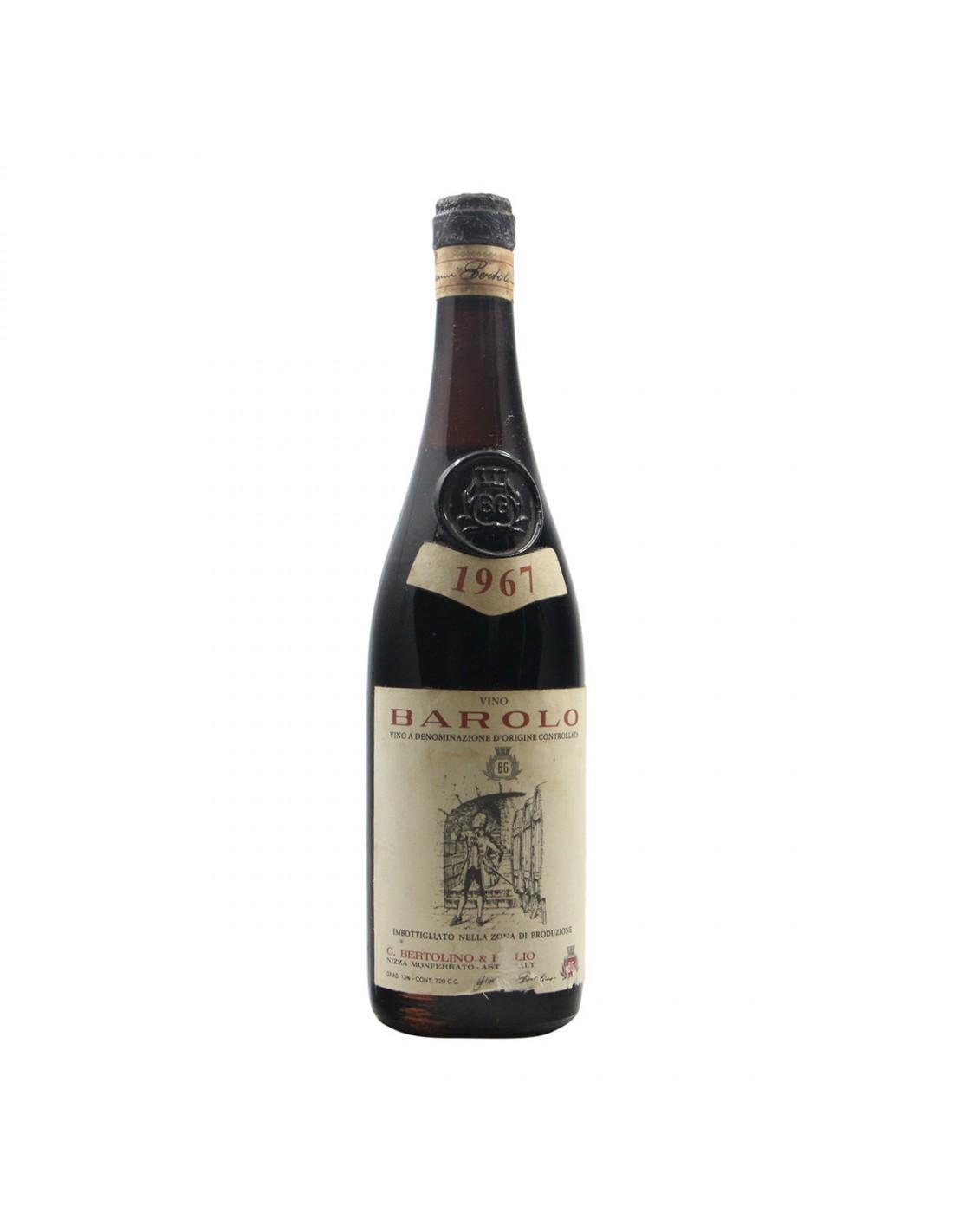 BAROLO 1967 BERTOLINO GIOVANNI Grandi Bottiglie