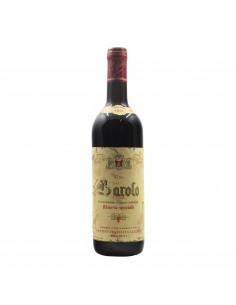BAROLO RISERVA SPECIALE 1967 F.LLI GALLIZIA Grandi Bottiglie