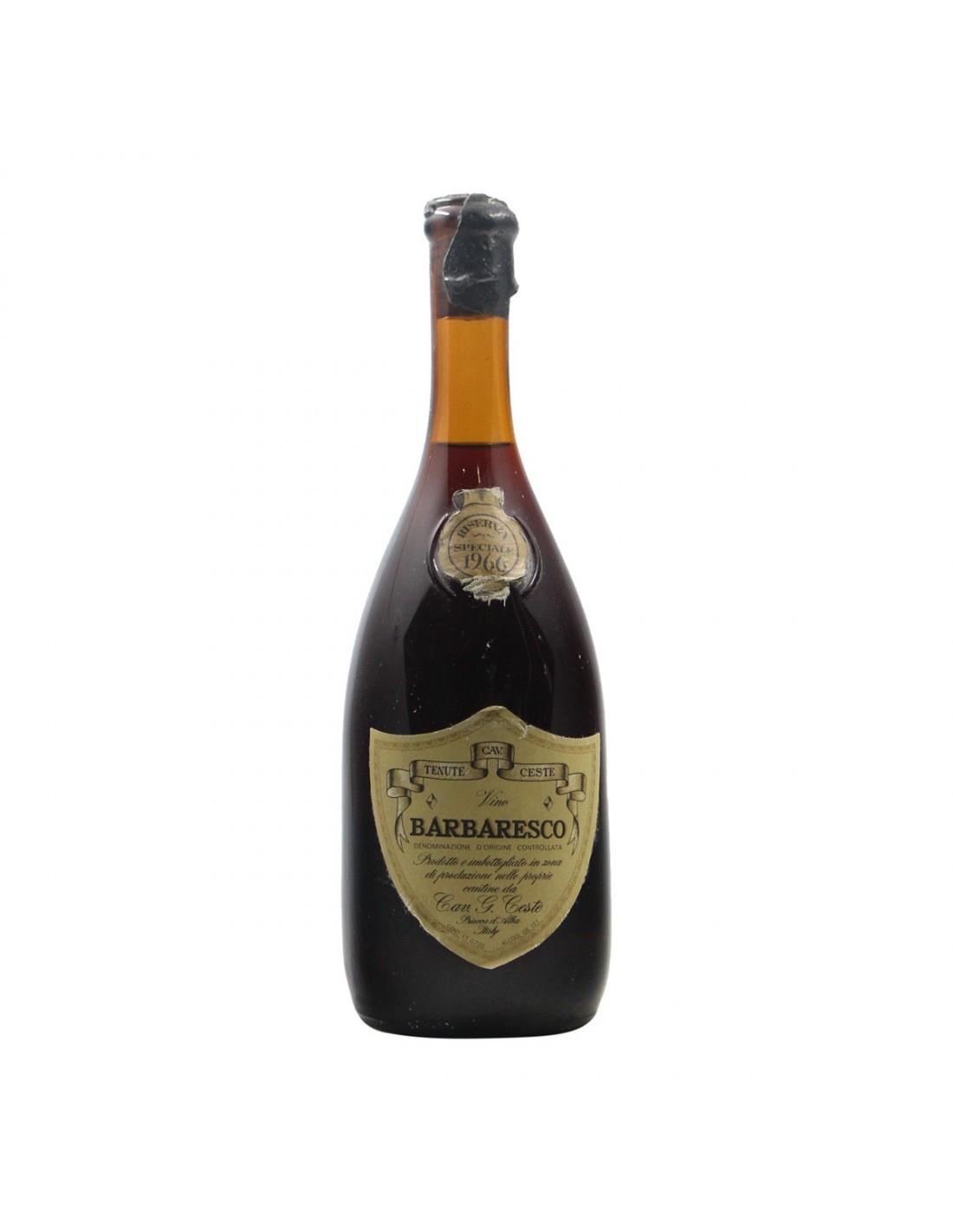 BARBARESCO RISERVA SPECIALE 1966 CESTE Grandi Bottiglie