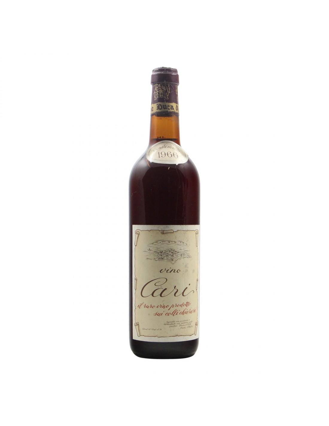 VINO CARI 1966 DUCA D'ASTI Grandi Bottiglie