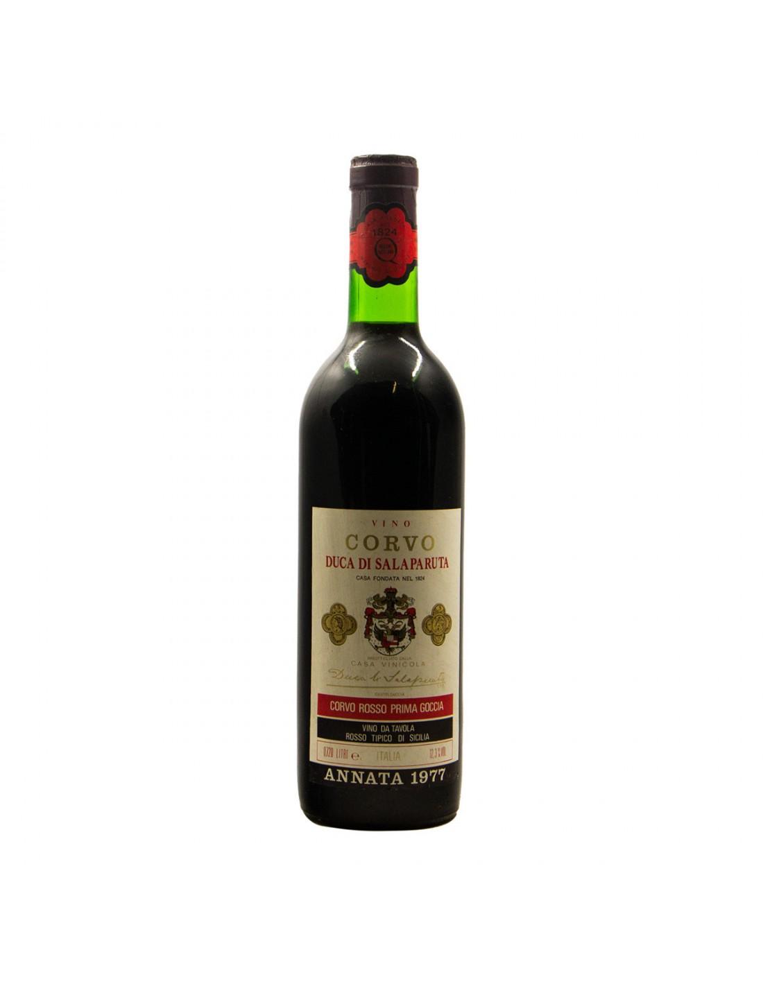 CORVO DI SALAPARUTA 1977 DUCA SALAPARUTA Grandi Bottiglie