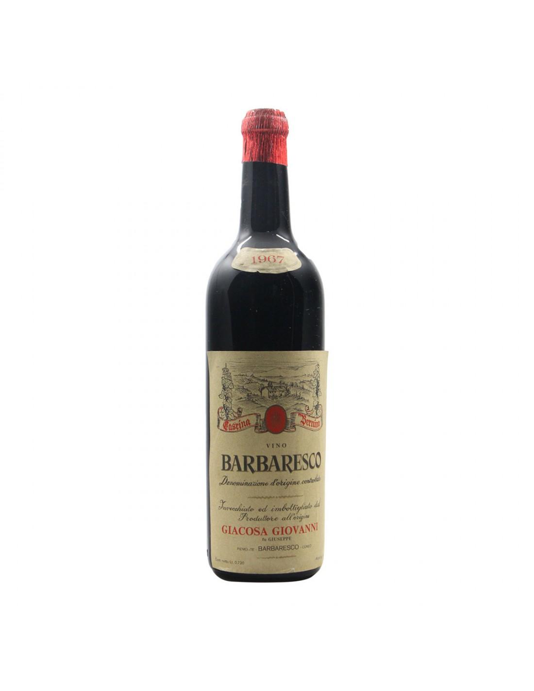 BARBARESCO 1967 GIACOSA GIOVANNI Grandi Bottiglie