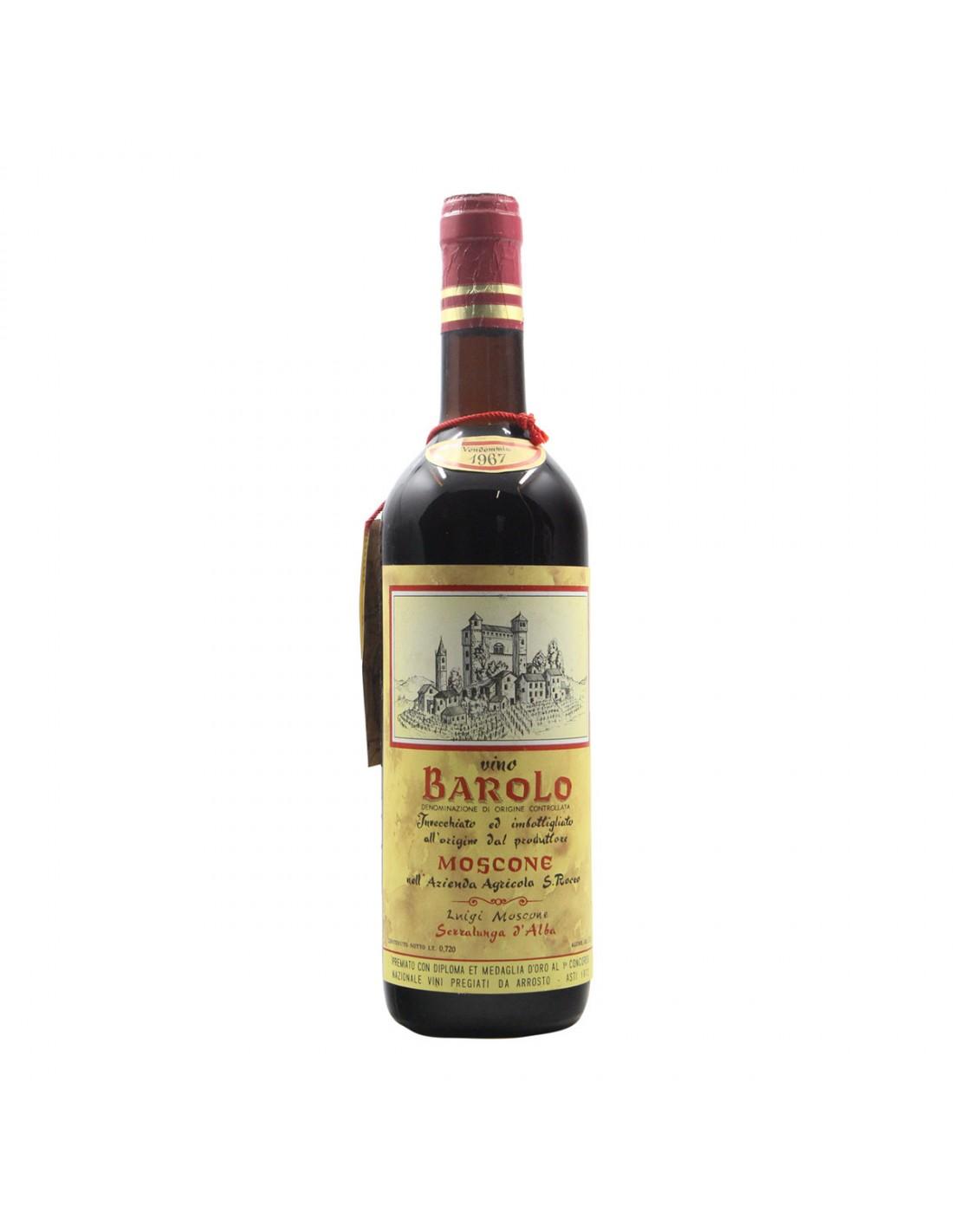 BAROLO 1967 MOSCONE Grandi Bottiglie