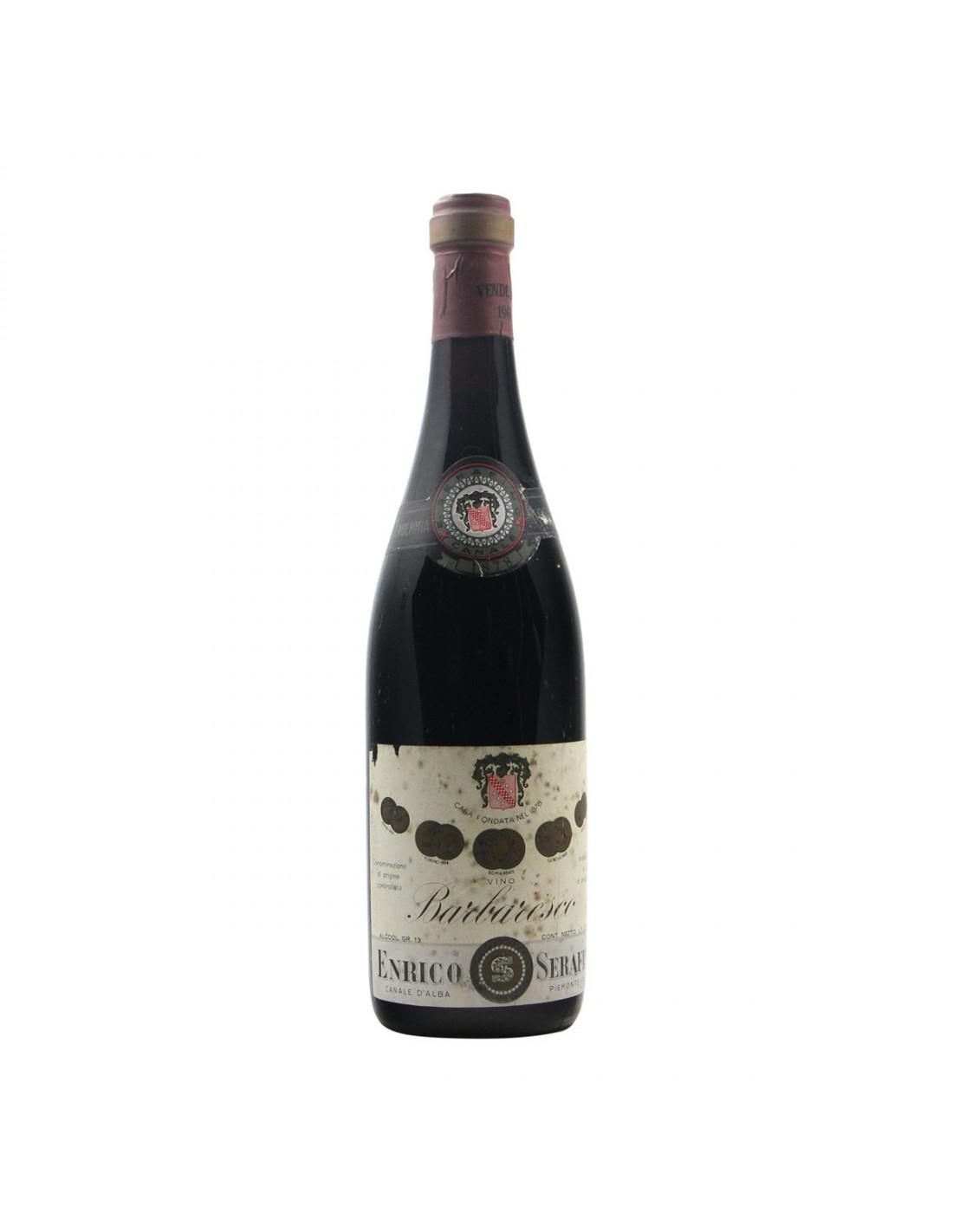 BARBARESCO 1966 SERAFINO Grandi Bottiglie