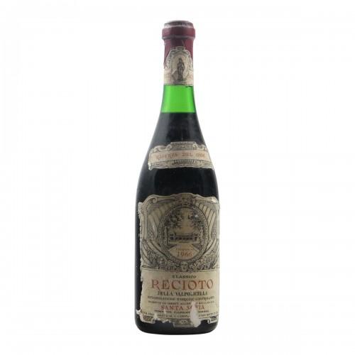 RECIOTO DELLA VALPOLICELLA 1966 SANTA SOFIA Grandi Bottiglie