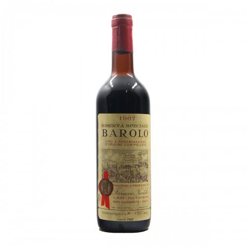 BAROLO RISERVA SPECIALE 1967 NICOLELLO Grandi Bottiglie