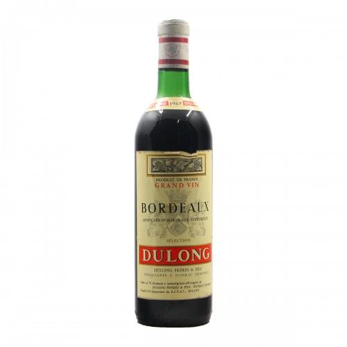BORDEAUX ROUGE 1967 DULONG Grandi Bottiglie