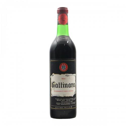 Gattinara 1967 CALDI GRANDI BOTTIGLIE
