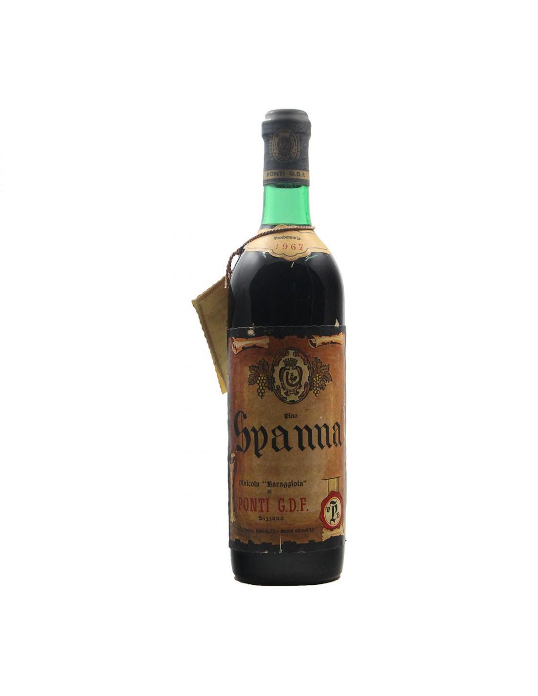 SPANNA 1967 PONTI Grandi Bottiglie