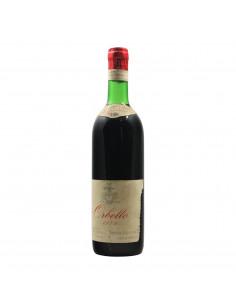 ORBELLO VIGNETO CASTELLETTO 1974 AZIENDA AGRICOLA SELLA Grandi Bottiglie