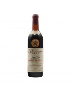 BAROLO RISERVA SPECIALE 1974 VOERZIO GIACOMO Grandi Bottiglie