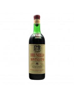 BRUNELLO DI MONTALCINO 1968 NARDI SILVIO Grandi Bottiglie