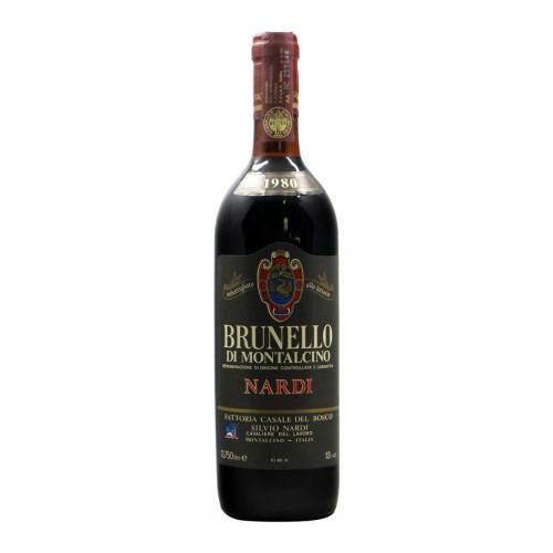 Brunello Di Montalcino 1980 NARDI SILVIO GRANDI BOTTIGLIE