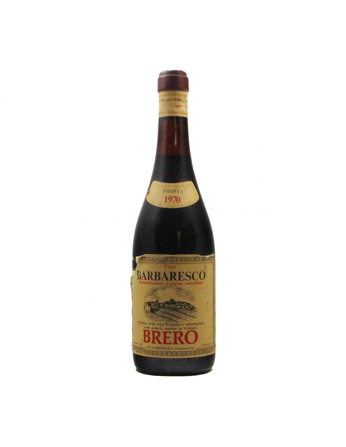 BARBARESCO RISERVA 1970 BRERO Grandi Bottiglie