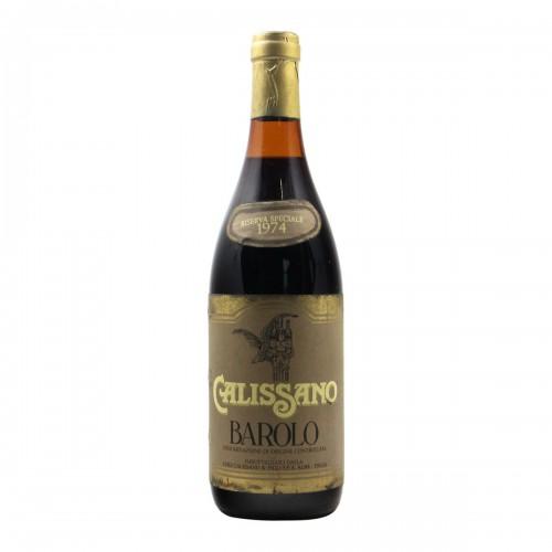 Barolo Riserva Speciale 1974 CALISSANO GRANDI BOTTIGLIE