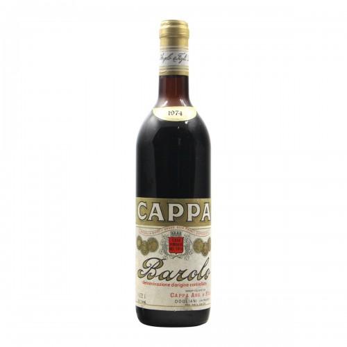 BAROLO 1974 CAPPA PIETRO Grandi Bottiglie