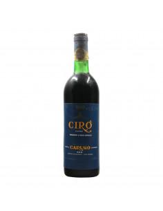 CIRO' CLASSICO 1975 CARUSO Grandi Bottiglie