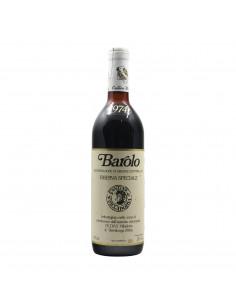 BAROLO RISERVA SPECIALE 1974 CE.DI.VI Grandi Bottiglie