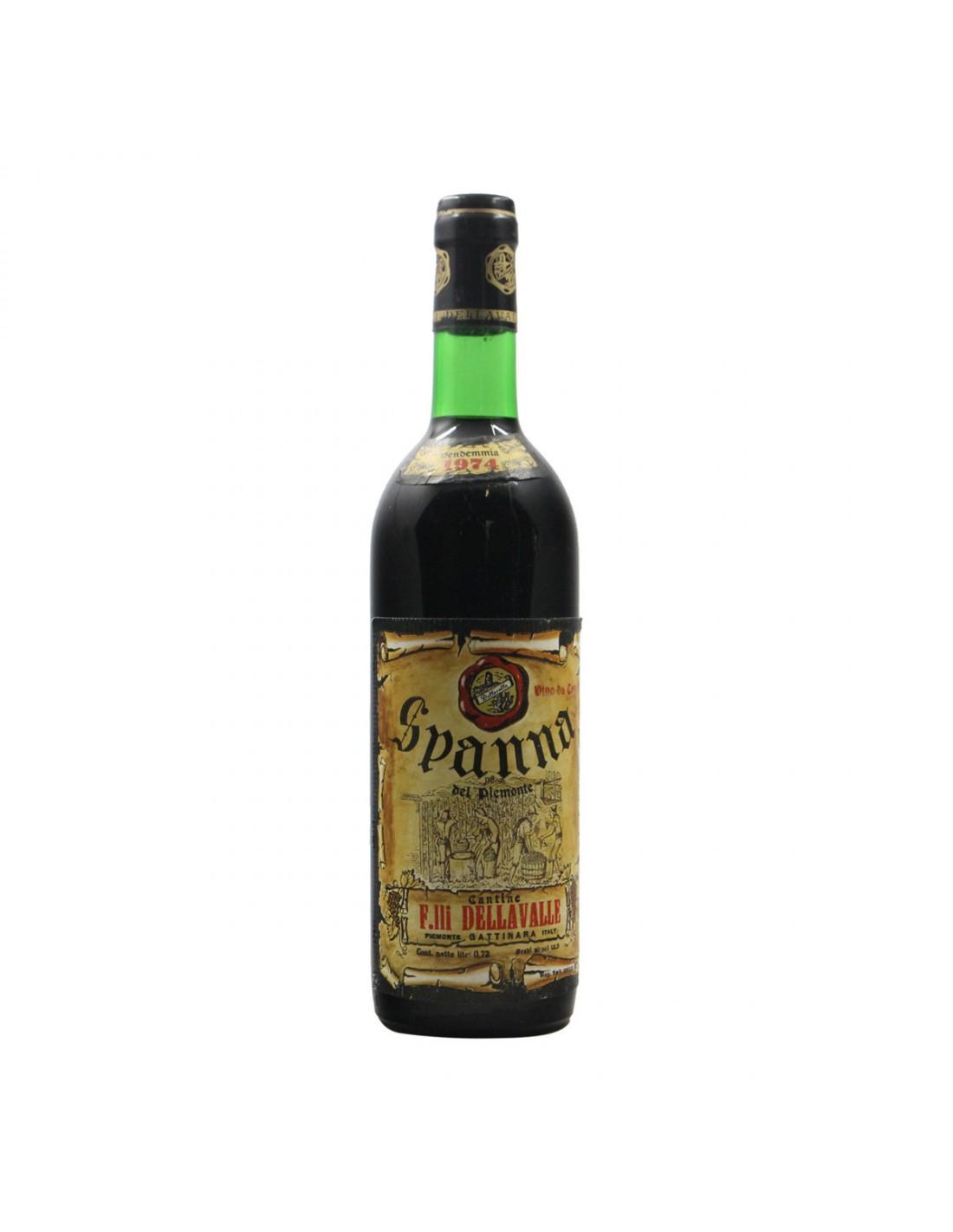 SPANNA 1974 CANTINE DELLA VALLE Grandi Bottiglie