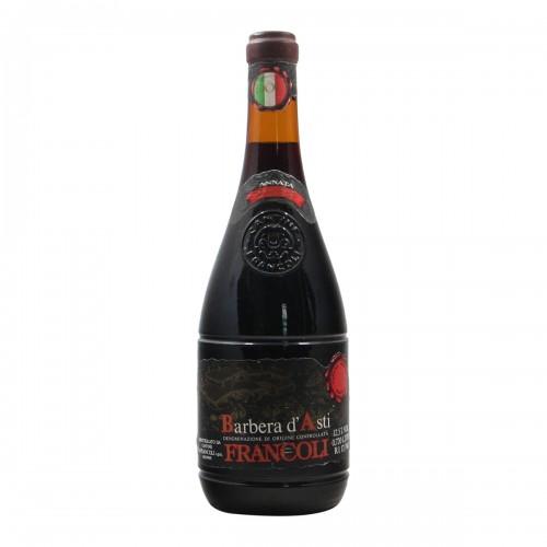 BARBERA D'ASTI 1974 FRANCOLI Grandi Bottiglie