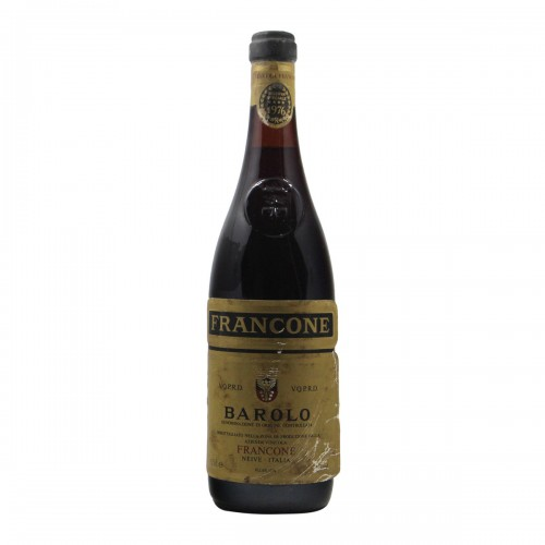 BAROLO RISERVA 1976 FRANCONE Grandi Bottiglie