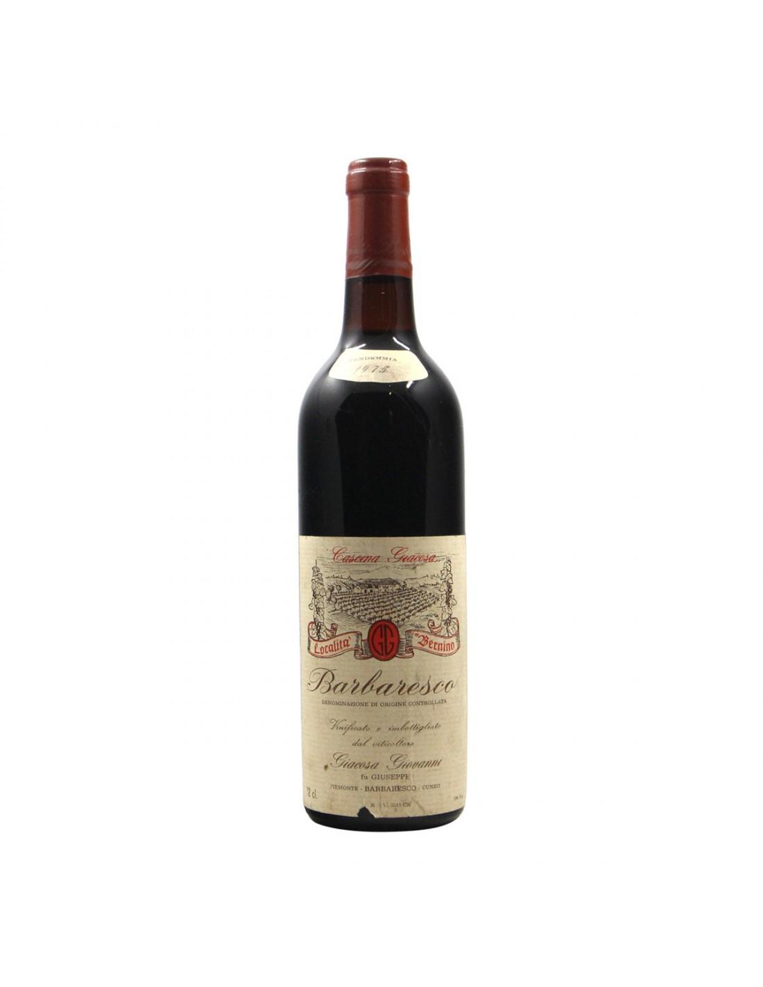 BARBARESCO 1975 GIACOSA GIOVANNI Grandi Bottiglie