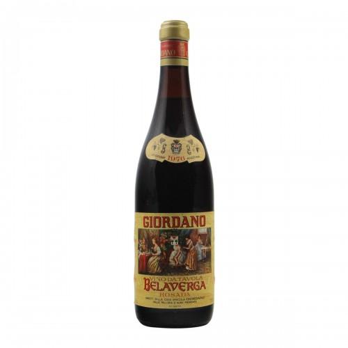 BELAVERGA ROSADA 1976 GIORDANO Grandi Bottiglie