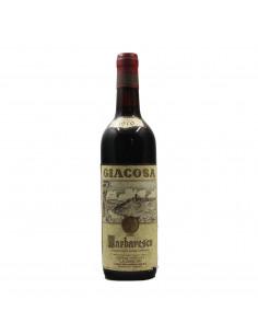 BARBARESCO 1970 LA CA NOVA Grandi Bottiglie