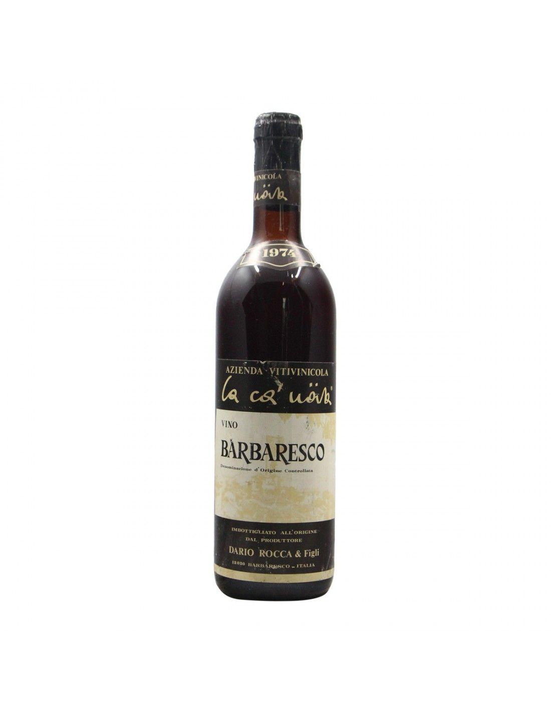 BARBARESCO 1974 DARIO ROCCA Grandi Bottiglie