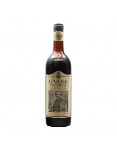 CHIANTI CLASSICO 1970 BARONE RICASOLI Grandi Bottiglie