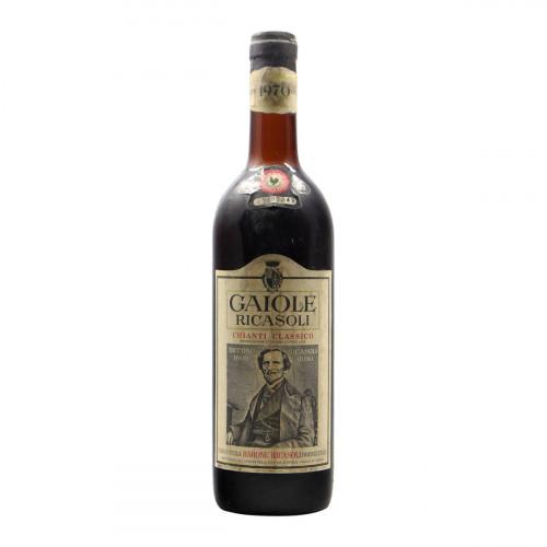 Chianti 1970 BARONE RICASOLI GRANDI BOTTIGLIE