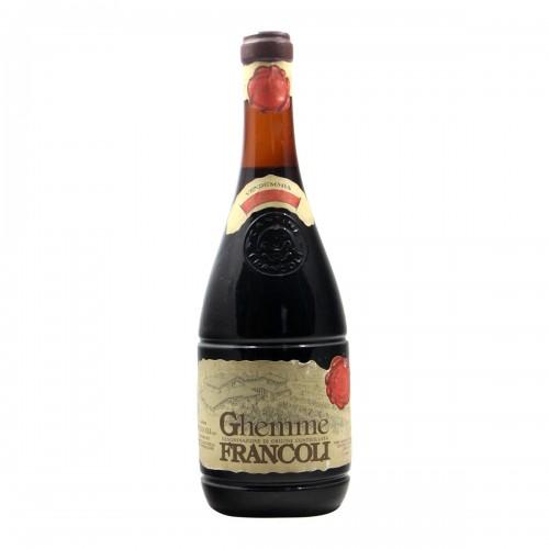 GHEMME 1970 FRANCOLI Grandi Bottiglie