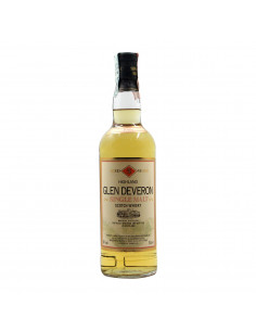 SCOTCH WHISKY SINGLE MALT 70CL 1986 GLEN DEVERON Grandi Bottiglie