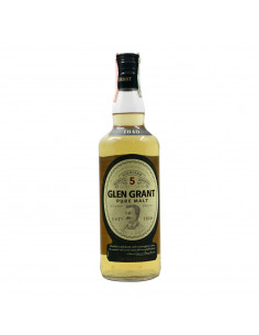 SCOTCH WHISKY PURE MALT 5YO 70CL NV GLEN GRANT Grandi Bottiglie