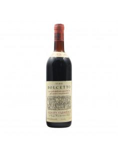 DOLCETTO 1974 CLEMENTE GUASTI Grandi Bottiglie