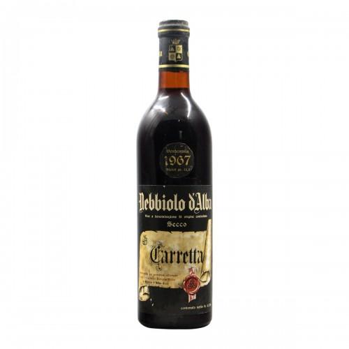 NEBBIOLO D'ALBA 1967 TENUTA CARRETTA Grandi Bottiglie
